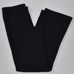 Calvin Klein Black Lounge Workout Pant Flare Sz M